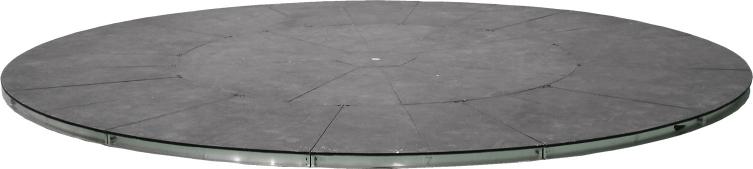 Jeffrey meyer turntables 18 foot turntable for Car turntable plans